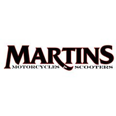 Martins Motorcycles and Scooters logo